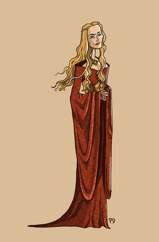 Cersei Character Design