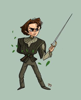 Arya Character Design