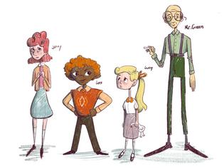 Henny Jenny Character Lineup