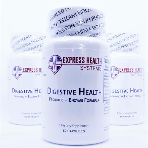 Digestive Health Probiotic + Enzyme Formula