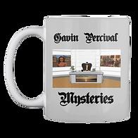 Gavin Percival Mysteries Mug $14.99
