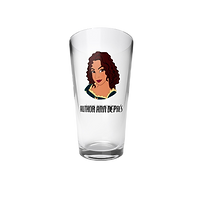 Author Ann Depres Pint Glass $20.00.png