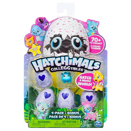 Hatchimals CollEGGtibles 4-Pack  Ages 5