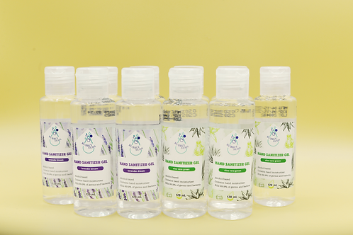 70% Alcohol Hand Sanitizer Gel (10Pack x 120mL)    -These products are FDA reg