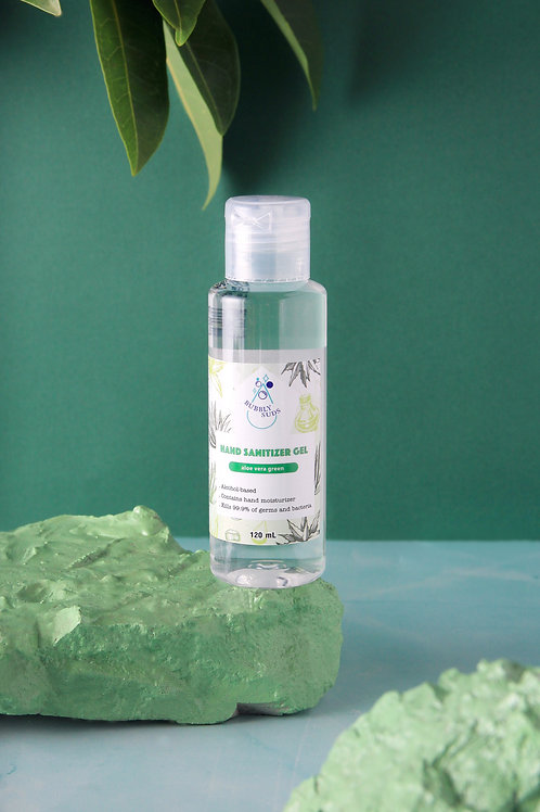 Aloe Vera Green Gel Hand Sanitizer (120ml/4 fl oz)