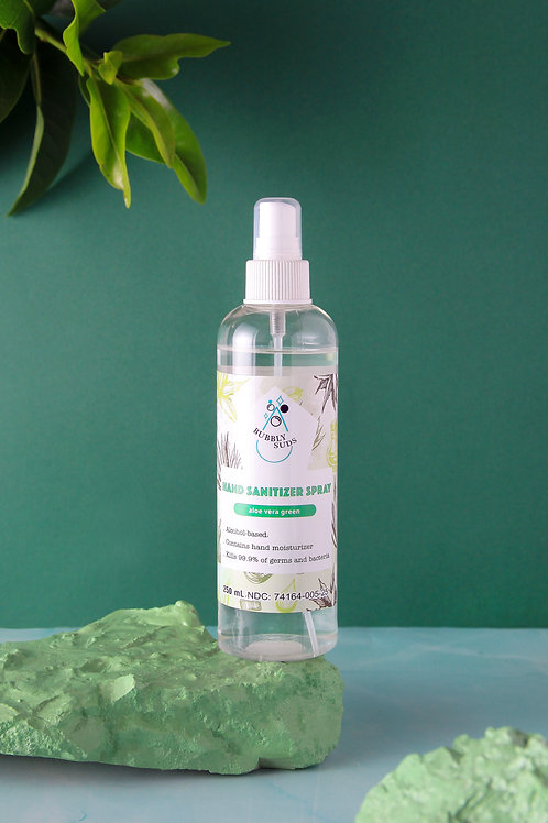 Aloe Vera Green Gel Hand Sanitizer (250ml/8.45oz)
