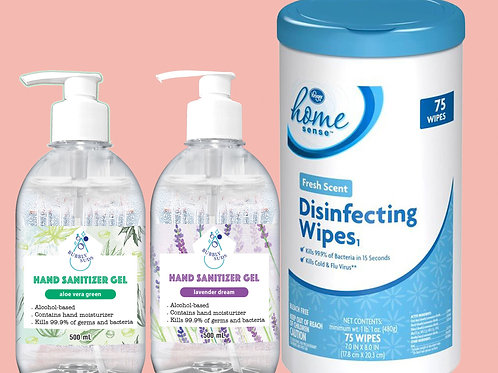 Kroger Fresh Scent Disinfecting Wipes 75ct
