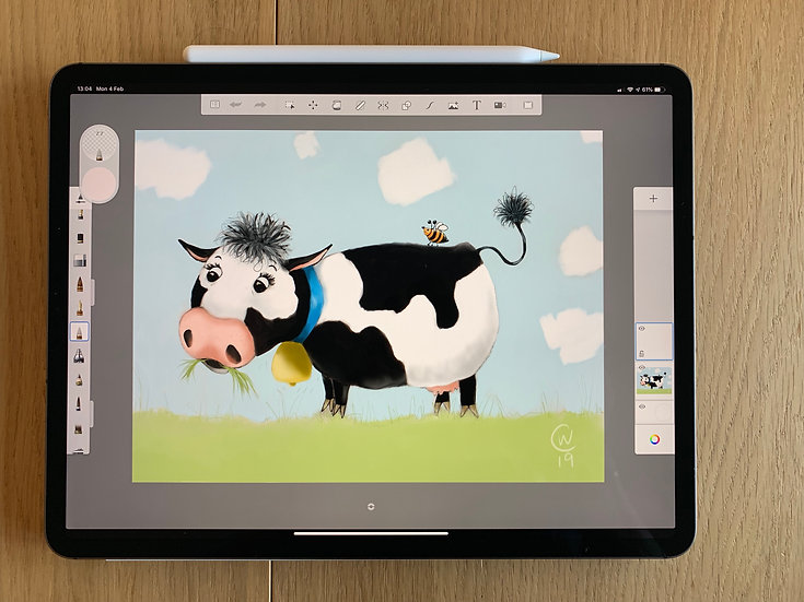 Painting & Drawing on your iPad - Cate Wetherall - 7th October 2020