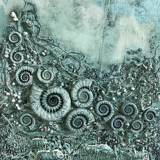 Mixed Media Fossil Canvas with Liz Dixon - 1st July 2021