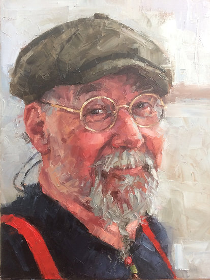 'Palette Knife Portraits' with Mark Fennell - 18th & 19th November 2020