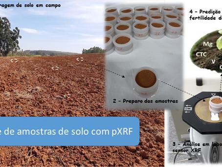 XRF na análise de fertilidade de solo