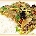10 Jab Chae Bap 잡채밥