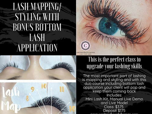 Couture Lash Styling with Bonus Bottom Lash Application