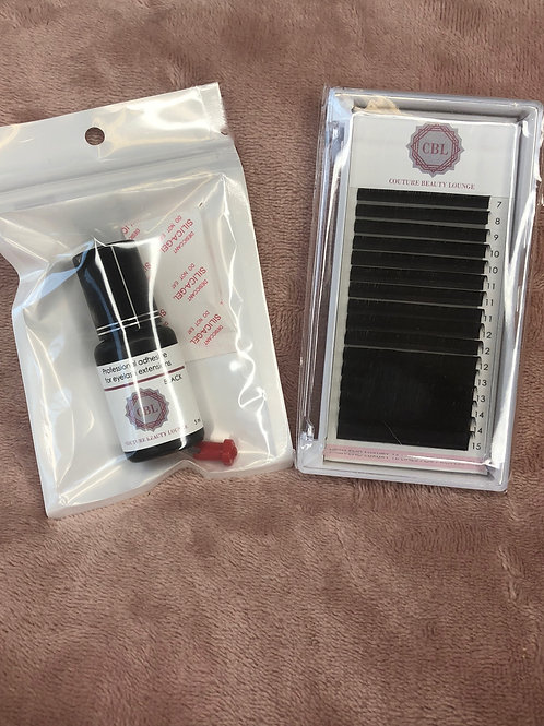 Couture Beauty Lounge (Black Adhesive)