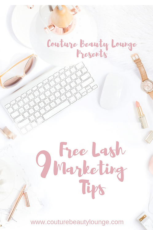 9 Free Lash Marketing Tips