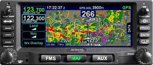 Avidyne IFD 440 FMS Navigator
