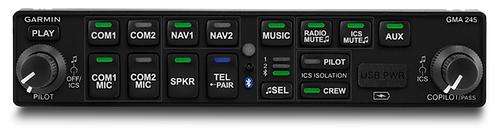 Garmin GMA 245 Audio System