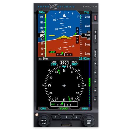 ASPEN EFD1000 E5 EFIS