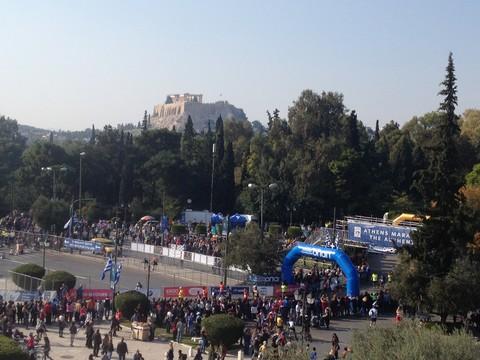 Athens Marathon Reception