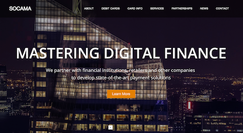 Socama founded to provide Digital Finance Services