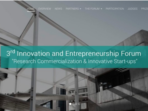 Philip Ammerman to judge at the Competition Track of the 2017 Innovation & Entrepreneurship Forum in