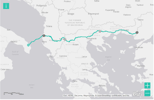Adriatic, Pipeline, Project, Greece, Navigator, Consulting, Invest, Gas