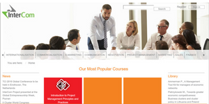 InterCom, Online, Training, Business, Cluster, Navigator, Consulting, Innovation, Education