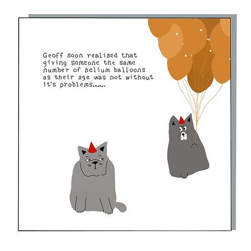 Geoff soon realised