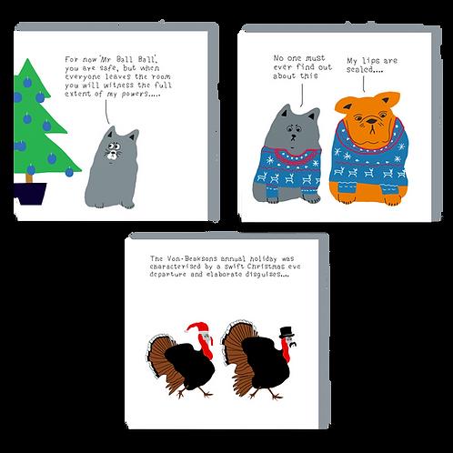 Christmas card bundle 3