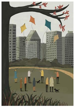 Flying kites-giclee-A5.jpg