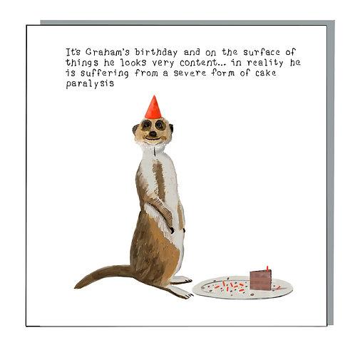 Cake paralysis
