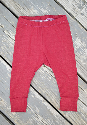Red Sparkle Leggings