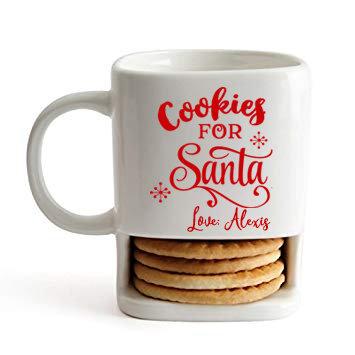 CUSTOM Milk & Cookies Mug