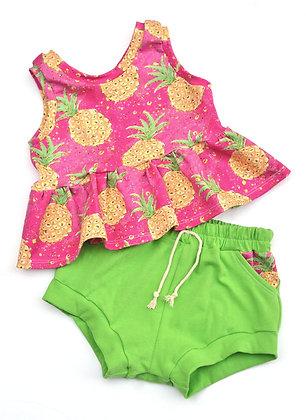 Green Pineapple Set 3T