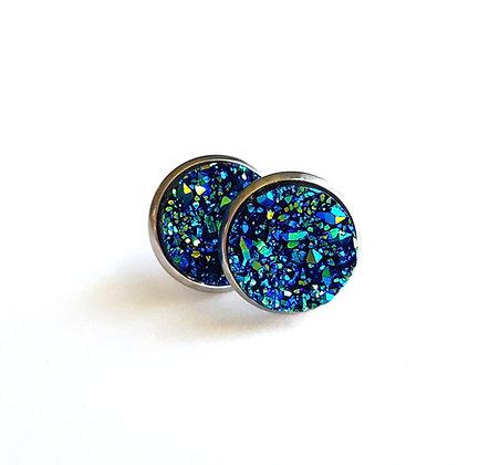 Royal Geode Earrings