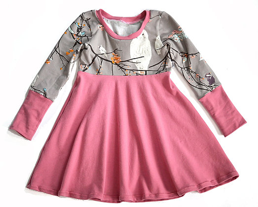 Owl Branch GWM Dress1-3T
