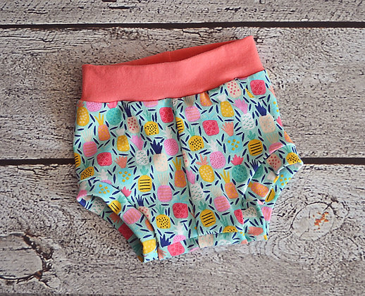 Pineapple Color Bummies - 12m