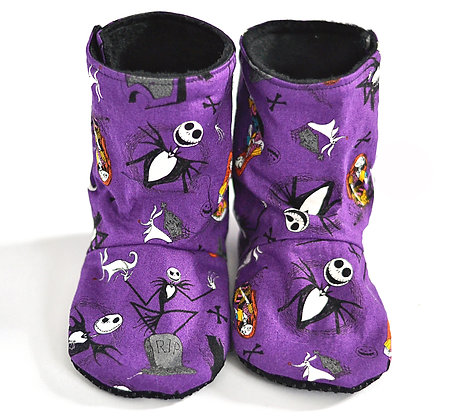 Purple NBC Menta Boots 18-24m