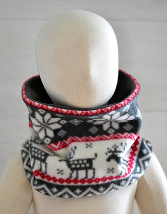 Reversible Neckwarmer (Child) - Deer