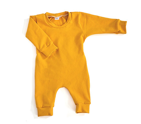 Coverall in Mustard
