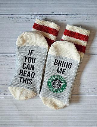 Word Socks - Coffee