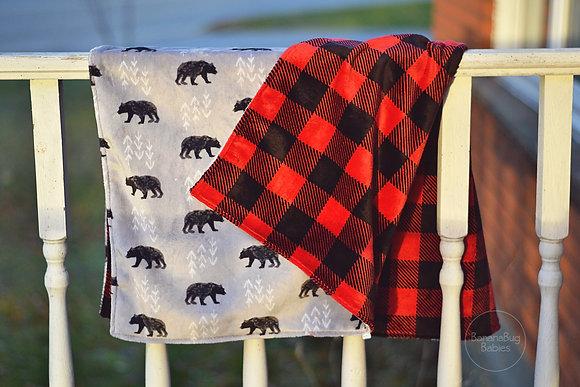 CUSTOM Double Sided Minky Blankets