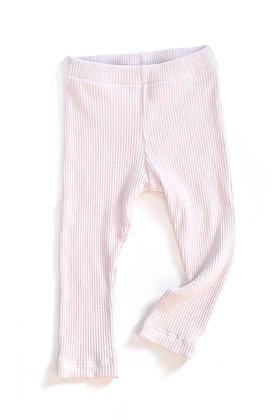 Ribbed Leggings - Ballet Slipper 9-12m