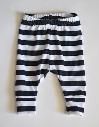 Navy Stripe Leggings