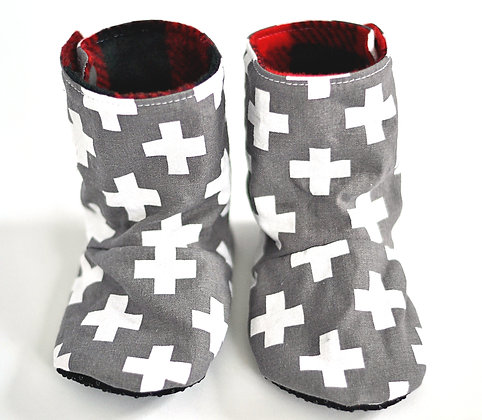 Grey Cross Menta Boots (made to order)