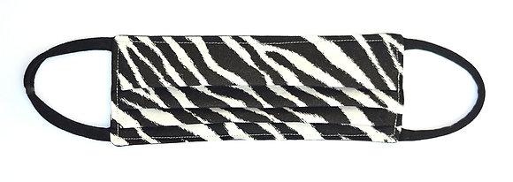 Face Mask - Zebra