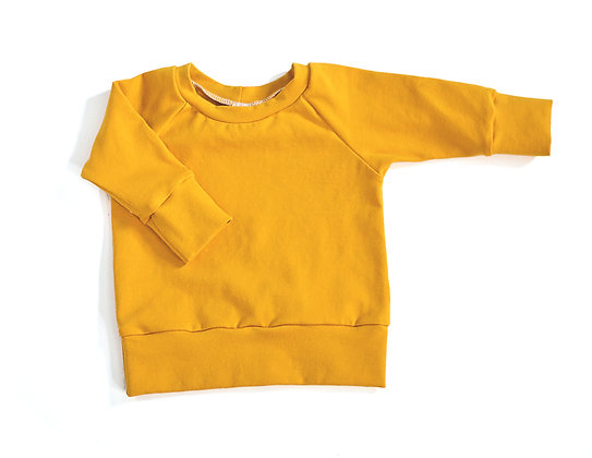 Raglan Top in Mustard