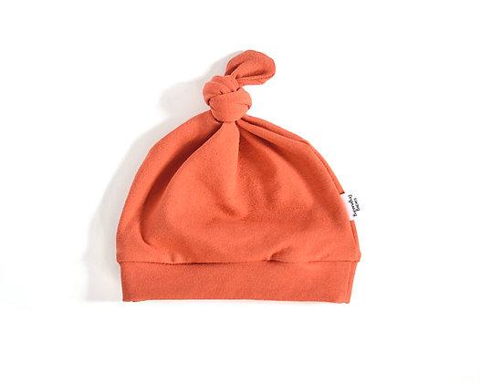Knot Hat in Terracotta