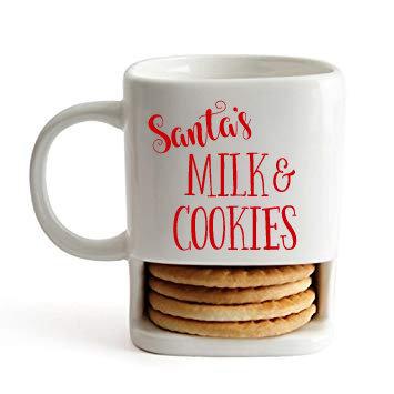 Santa's Milk & Cookies Mug