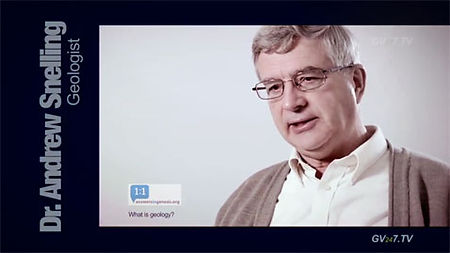 Dr. Andrew Snelling (Geologist & Dir of Research AiG) speaking for Global Vision TV